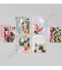 Набор картонных разделителей для планнера Фото, размер 16х25 см, 6 шт
