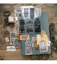Набор штампов и ножей для вырубки Улица воспоминаний