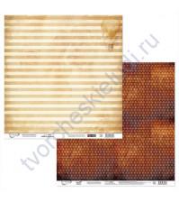 Бумага для скрапбукинга двусторонняя Феррум, 190 гр/м2, 30.5х30.5 см, лист 3