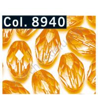 Бусины Faceted Olive, 11х8 мм, 14 шт., цвет 8940