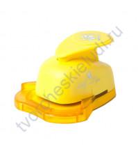 Фигурный компостер (дырокол) угла Shell, прим. 2.5 см