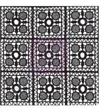 Штамп силиконовый фоновый-3, 6.3х6.3 см