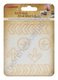 Завитки Вокруг Света-1, цвет пастельный желтый