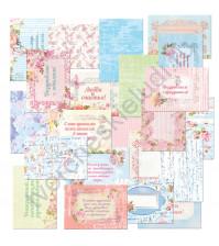 Набор карточек для журналинга Любви и счастья, плотность 190 гр/м, 20 штук
