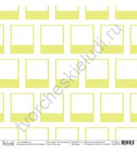 Бумага для скрапбукинга односторонняя коллекция На чемоданах, 30.5х30.5 см, 190 гр/м, лист Фото дня