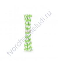 Бумажная трубочка Киви, 19.5 см, 1 шт