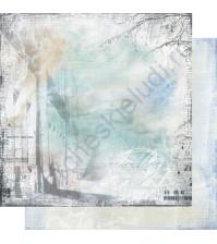 Бумага для скрапбукинга двусторонняя, коллекция Городская симфония, лист 004