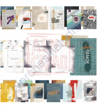 Цифровой набор страничек и разделителей для планера Вне рамок, формат А6, 43 дизайна
