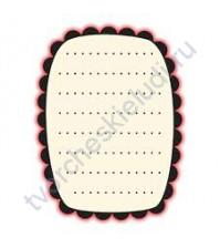 Штамп Journaling Box, 3.5х4.5 см