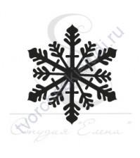 ФП печать (штамп) Снежинка-7, 2х2 см