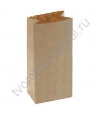 Пакет из крафт-бумаги, плотность 70 гр/м2, 8х5х17 см