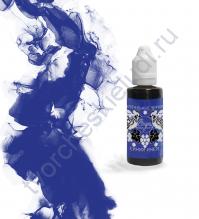 Чернила алкогольные ScrapEgo, емкость 30 мл, цвет Синий иней