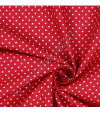 Ткань для рукоделия 100% хлопок, плотность 120г/м2, размер 70х50см (+/- 2см), коллекция Горох, дизайн 4, цвет 5