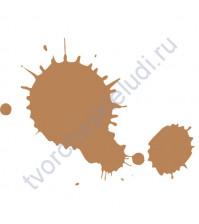 Штемпельная подушечка быстросохнущая, 3.5х2.5 см, цвет Хрупкий арахис