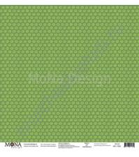 Бумага для скрапбукинга односторонняя Маленький пират, 30.5х30.5 см, 190 гр/м, лист Земля прямо по курсу