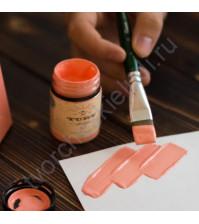 Краска акриловая Tury Design Di-7 на водной основе, флакон 60 гр, цвет Розовый восход