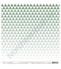 Бумага для скрапбукинга односторонняя, коллекция Семейный альбом, размер 30.5х30.5 см, 190 гр\м2, лист Лето у бабушки