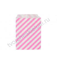 Пакет бумажный Райе розовый, 13х18 см, 1 шт.