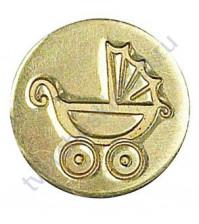 Сменная насадка для малой восковой печати Детская колясочка