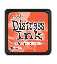 Штемпельная мини-подушечка Tim Holtz Distress Mini Ink Pads на водной основе, 2.5х2.5 см, цвет спелая хурма (ripe persimmon)