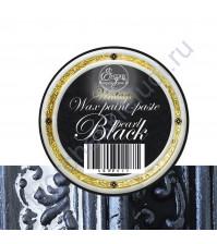Восковая краска-паста Vintage ScrapEgo, 10 мл, цвет Black pearl