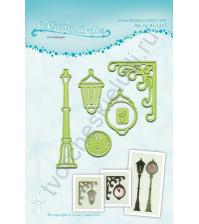 Набор ножей для вырубки Clock and Lantern от Leane Creatief, 6 шт