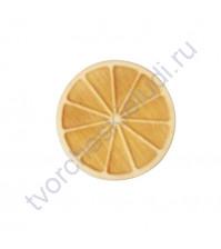 Декоративный элемент из фанеры Апельсин, толщ. 3 мм, диаметр 30 мм