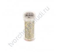 Рубка с круглым посеребренным отверстием, 20 гр, цвет 30-желтый