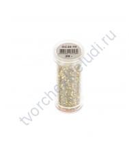 Рубка с круглым посеребренным отверстием, 20 гр, цвет 30 (желтый)