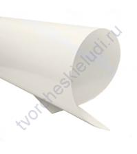 Термотрансферная пленка, цвет белый, матовый 30х30 см (+/- 1 см)