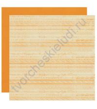 Бумага для скрапбукинга двусторонняя коллекция Promise, 30.5х30.5 см, 220 гр/м, лист Five