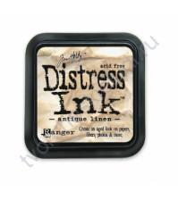 Штемпельная подушечка Tim Holtz Distress на водной основе, 5х5 см, цвет античный холст (antique linen)