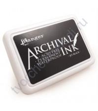 Штемпельная подушечка Archival Ink (архивные чернила), 8х5 см, цвет черный