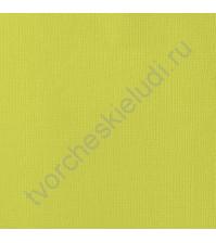 Кардсток текстурированный Лимонад (Limeade), 30.5х30.5 см, 216 гр/м2