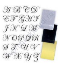 Набор для фольгирования и флокирования Victorian Alphabet, 10х15 см