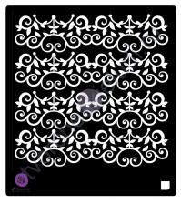 Трафарет пластиковый Cast Iron Vine, толщина 0.31 мм, 15х15 см