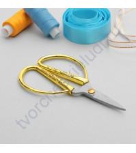 Ножницы с золотыми ручками, 13 см