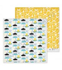 Бумага для скрапбукинга двусторонняя коллекция Полундра, 30.5х30.5 см, 180 гр/м2, лист Полундра