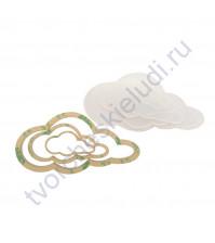 Набор шейкеров Облако вытянутое, 3 элемента, толщ. 3 мм, цвет прозрачный