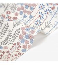 Ткань для рукоделия One mind-576, 100% лен, плотность 200 гр/м2, размер отреза 45х75 см