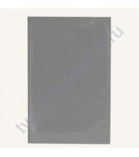 Лист для фольгирования Glitter, 9х14 см, цвет серебро