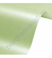 Лист гладкой дизайнерской бумаги Majestic 290 гр, формат 30х30 см, цвет Свежая мята