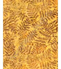 Ткань для лоскутного шитья, Папоротник, 50х55см