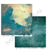 Бумага для скрапбукинга двусторонняя Феррум, 190 гр/м2, 30.5х30.5 см, лист 6