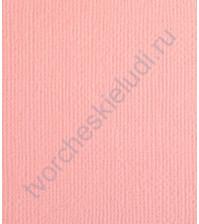 Кардсток текстурированный Сладкая вата (св.розовый), размер 30.5х30.5 см, плотность 216 гр/м