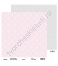 Бумага для скрапбукинга двусторонняя, коллекция Нежный шик, 30х30 см, 250 гр/м2, лист 1
