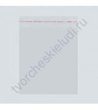 Пакет для упаковки на липкой ленте 25 мкм, 14х16-4 см, 1 шт
