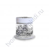 Текстурная паста Diamond ScrapEgo, 150 мл, цвет сияющий белый
