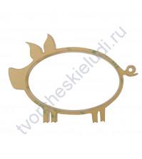 Шейкер Хрю-Хрю, 50х70 мм, толщ. 3 мм, цвет прозрачный