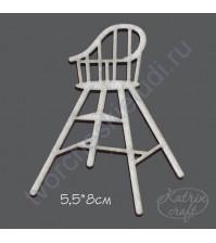 Чипборд Детский стульчик маленький 5.5х8 см